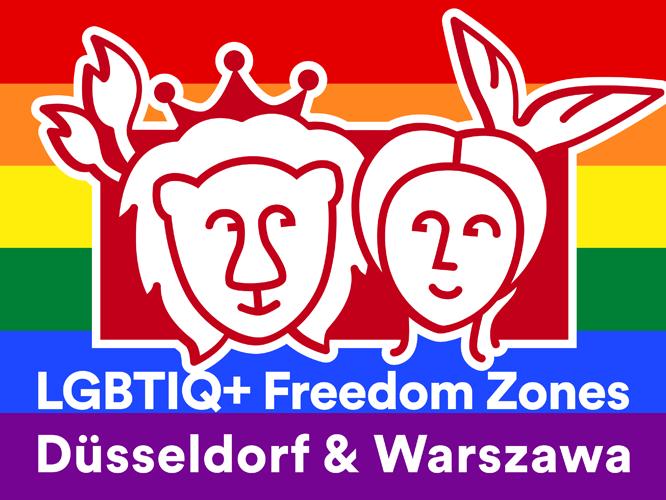 Bild: LGBTIQ+ Freedom Zones Düsseldorf & Warschau