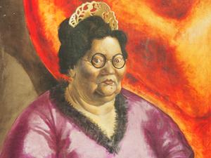 """Bild: """"Bildnis der Kunsthändlerin Johanna Ey"""" von Otto Dix"""