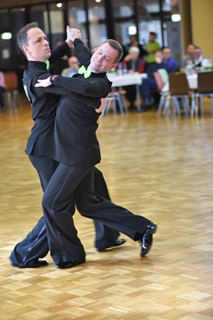 Bild: Tanzpaar Christian Heinemann und Florian Höck