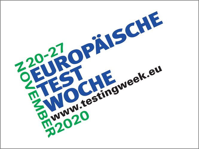 """Bild: Logo """"Europäische Testwoche"""""""