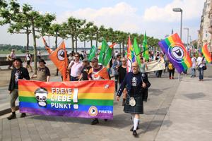 Bild: Piraten-Partei beim CSD