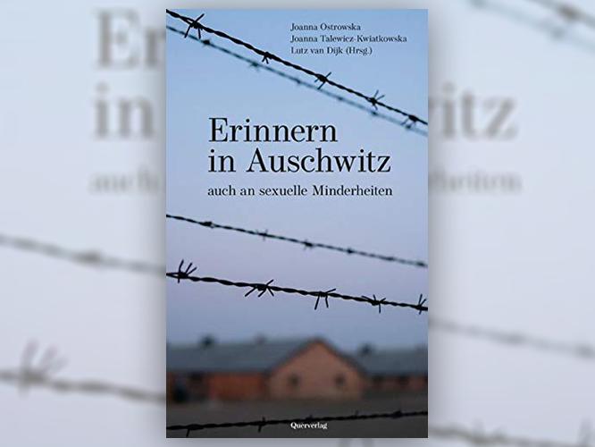 """Bild: Bochcover """"Erinnern in Auschwitz - auch an sexuelle Minderheiten"""""""