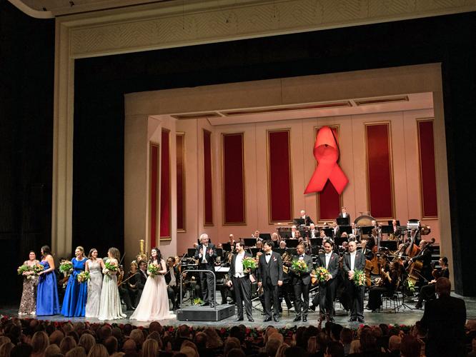 Bild: AIDS-Gala der Deutschen Oper am Rhein