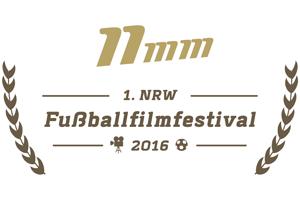 Logo: 1. NRW Fußballfilmfestival