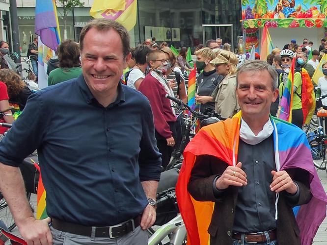 Bild: Stephan Keller und Thomas Geisel