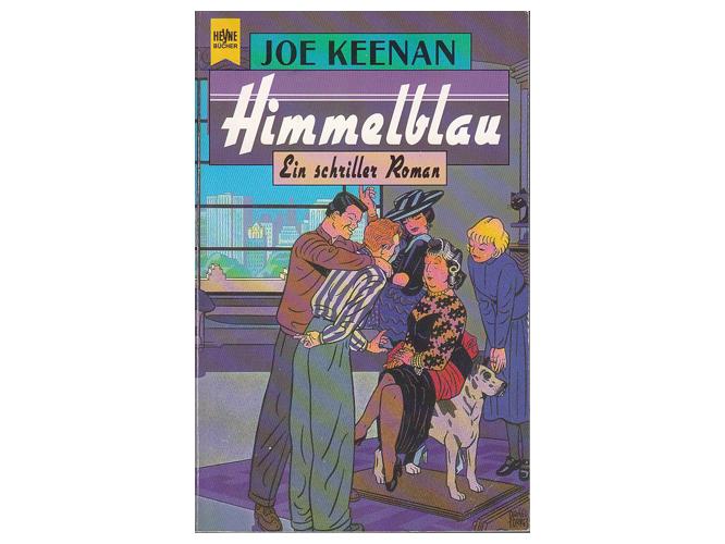 "Bild: Buchcover ""Himmelblau"""