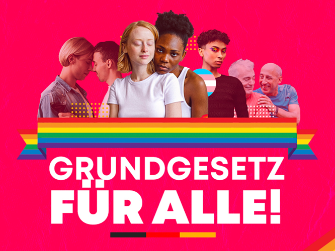 Bild: Grundgesetz für alle!