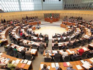 Bild: Plenarsitzung des Landtags NRW