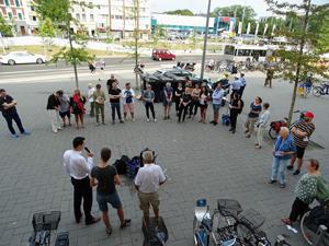 Bild: Demo vor den Bilker Arkaden