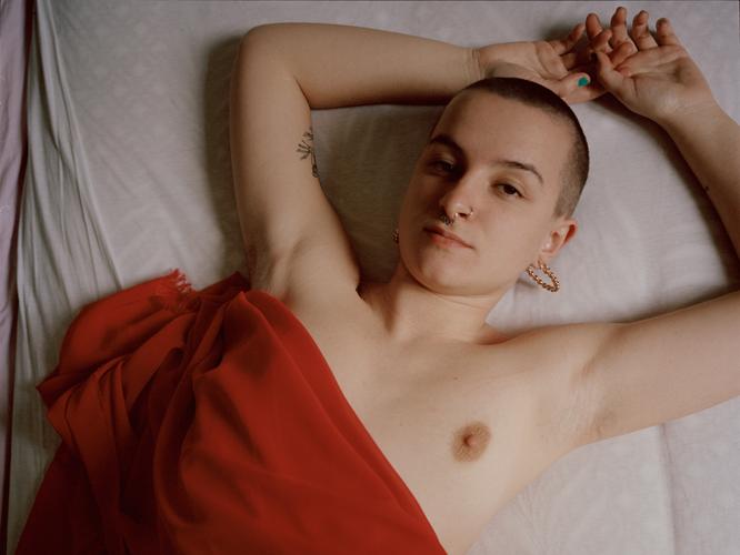 Bild: Queere Frau