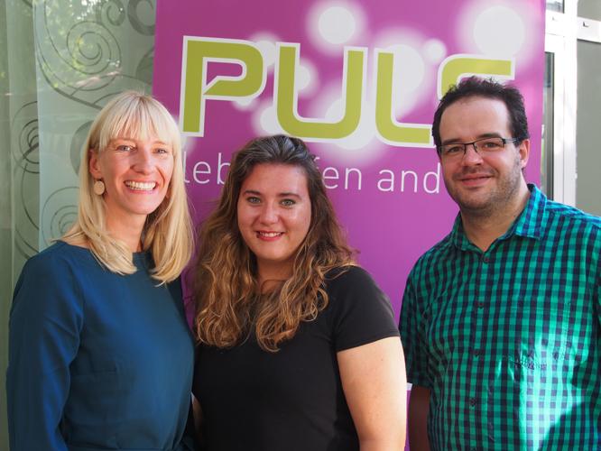 Bild: Jana Hansjürgen, Melanie Wohlgemuth und Alexander Grunwald