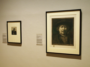 Bild: Blick in die Rembrandt-Ausstellung