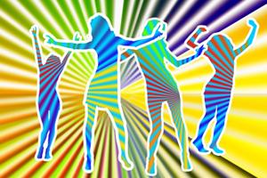 Bild: Tanzende Frauen