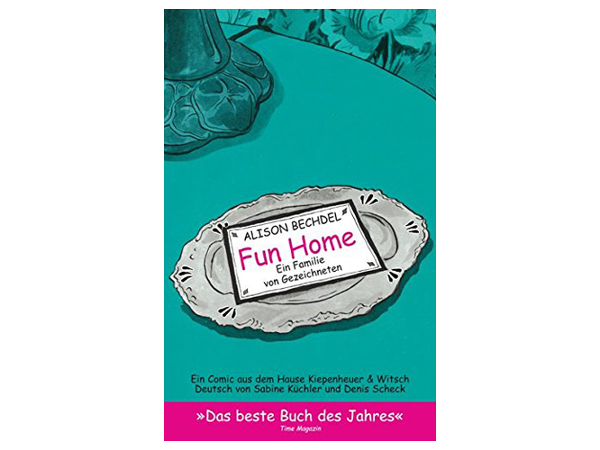 "Bild: Buchcover ""Fun Home"""