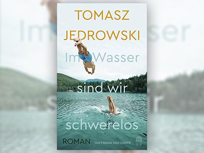 """Bild: Buchcover """"Im Wasser sind wir schwerelos"""""""