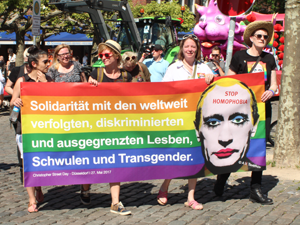 Bild: CSD-Demonstration in Düsseldorf