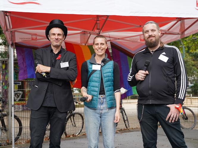 Bild: Bernd Plöger, Inka Wilhelm und Rene Kirchhoff