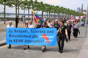 Bild: Aktivist_innen gegen die AfD