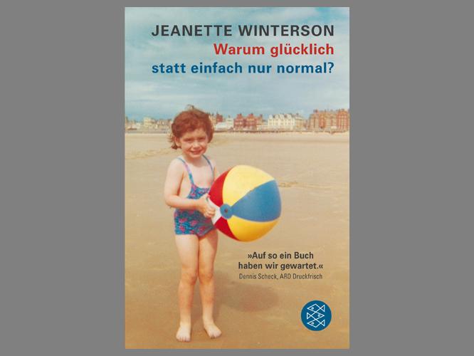 """Bild: Buchcover """"Warum glücklich statt einfach nur normal?"""""""