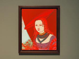 Andy Warhol (1928-1987): Bildnis einer Frau (nach Cranach), 1985