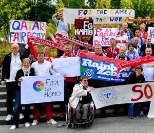 Bild: 17. Treffen der Queer Football Fanclubs