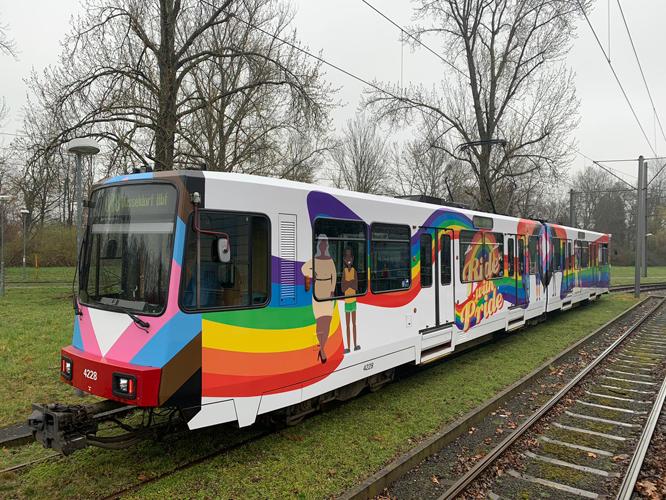 Bild: Pride-Bahn