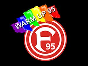 Logo: warm up 95