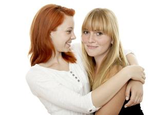 Bild: Lesbisches Paar