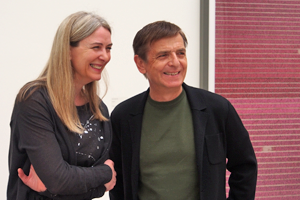 Bild: Marion Ackermann und Andreas Gursky