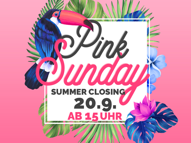 Bild: Pink Sunday Summer Closing