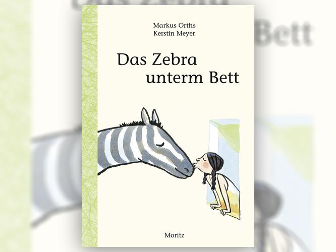 "Bild: Buchcover ""Das Zebra unterm Bett"""