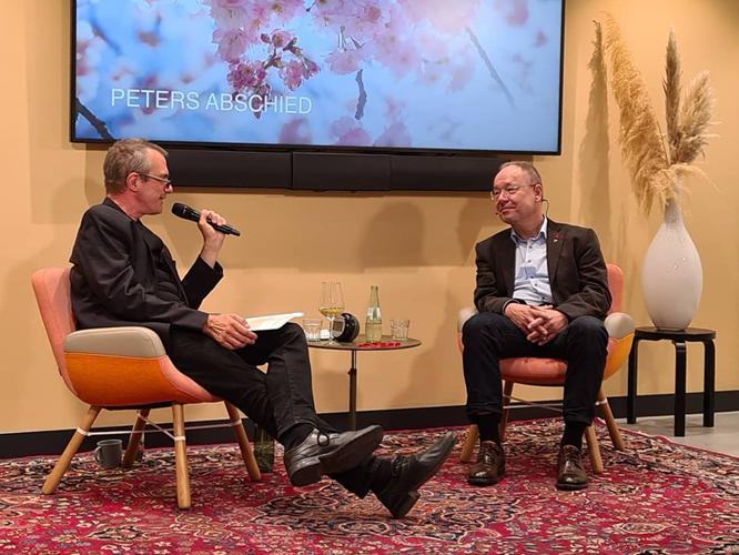 Bild: Bernd Plöger und Peter von der Forst