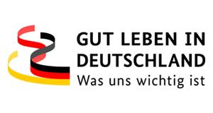 Logo: Gut leben in Deutschland – Was uns wichtig ist