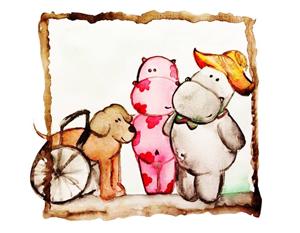 Bild: Kinderbuchmotiv Winsu und Freunde