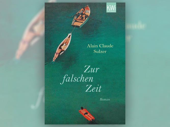 """Bild: Buchcover """"Zur falschen Zeit"""""""