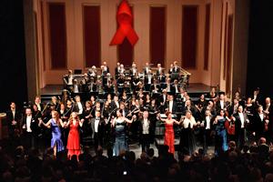 Bild: 7. Festliche Operngala für die Deutsche AIDS-Stiftung im Opernhaus Düsseldorf
