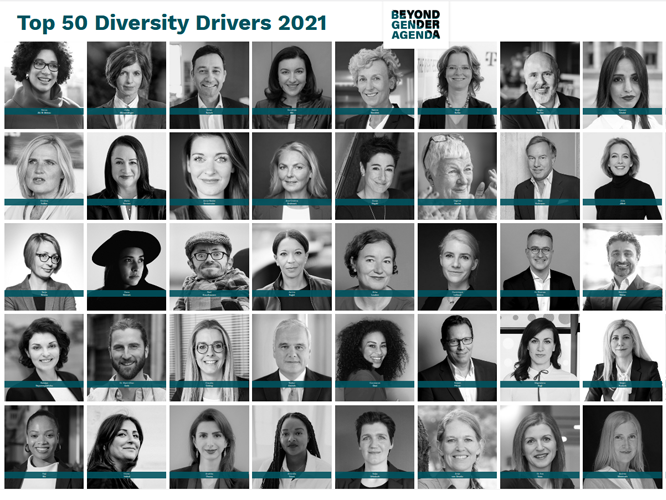 Bild: Top 50 Diversity Drivers 2021