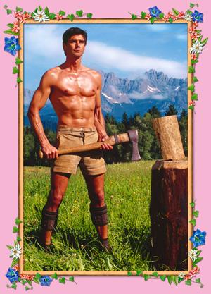 Bild: Anne-Marie von Sarosdy - Der Holzfäller