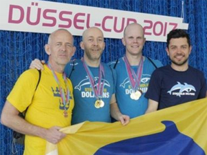 Bild: Sportler beim Düssel-Cup 2017