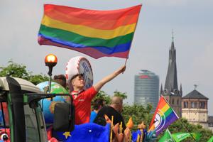 Bild: Düsseldorfer CSD-Parade