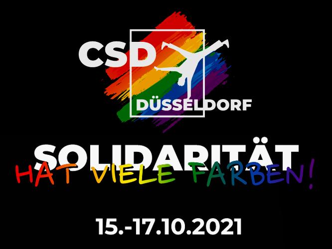 Bild: CSD Düsseldorf - Solidarität hat viele Farben