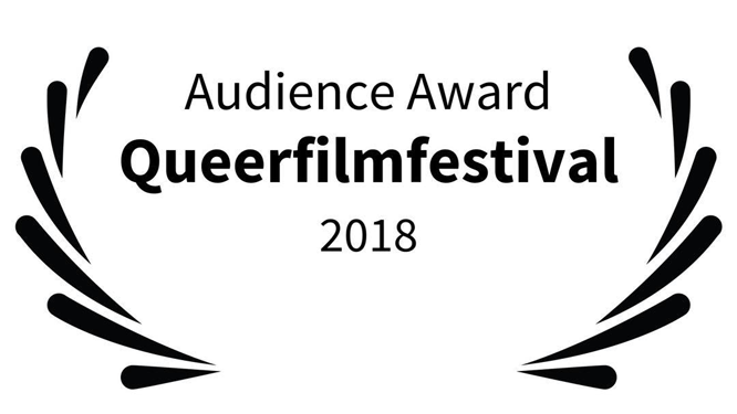 Logo: Audience Award Queerfilmfestival 2018
