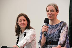 Bild: Dominique Gonzalez-Foerster und Marion Ackermann