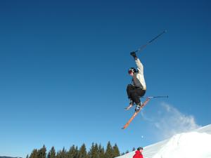 Bild: Skifahrer