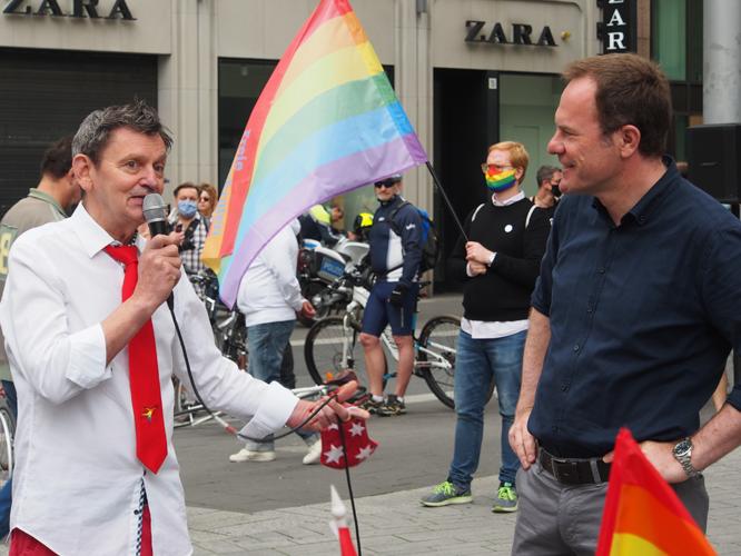 Bild: Kalle Wahle und Dr. Stephan Keller