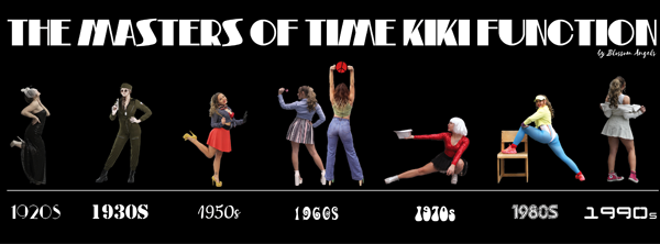 "Bild: Plakatmotiv von ""The Masters of Time Kiki Function"""