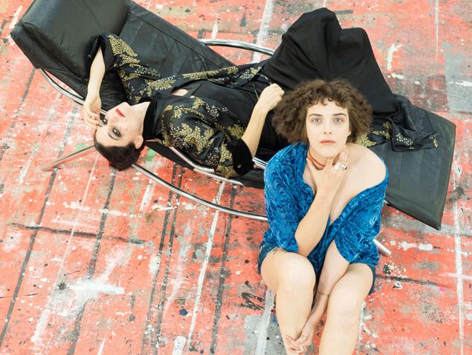 Bild: Sonja Beißwenger und Anna-Sophie Friedmann