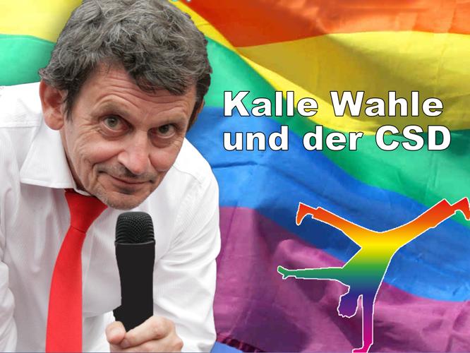 Bild: Kalle Wahle ... und der CSD
