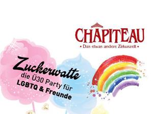 Logo: Zuckerwatte-Party