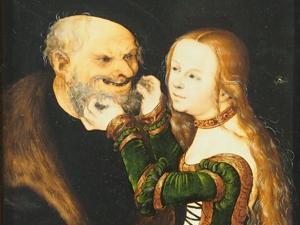 """Bild: Detailansicht """"Das ungleiche Paar"""""""